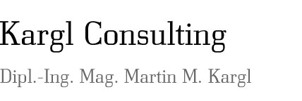 Kargl Consulting